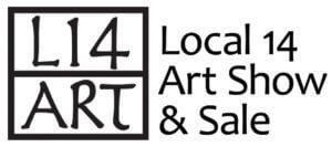 Local 14 Art Show Logo